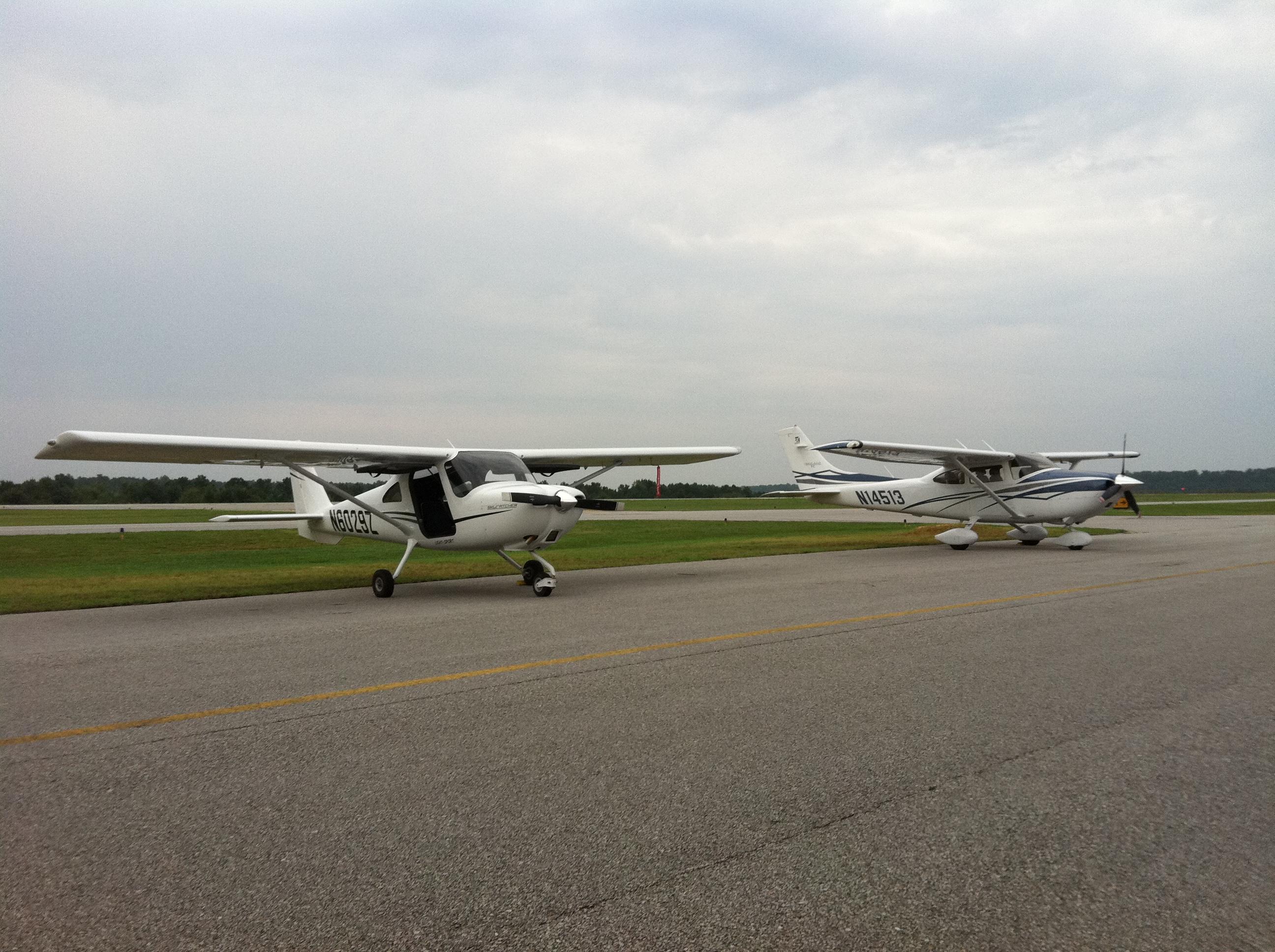 Cessna 162 Skycatcher compared to Cessna Turbo Skylane model 182T ...
