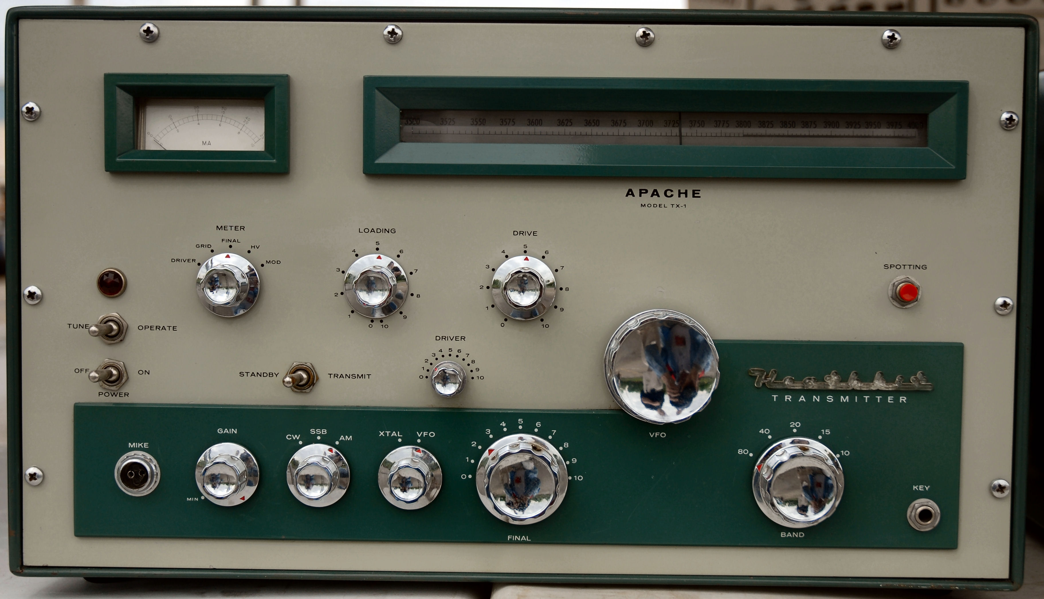 Dayton Heathkit Apache Tx on view