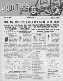 RCA Ham Tips